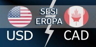 Analisa Teknikal USDCAD Sesi Eropa
