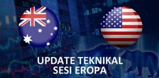 Update Teknikal AUDUSD Sesi Eropa