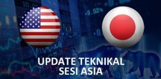 Update Teknikal USDJPY Sesi Asia