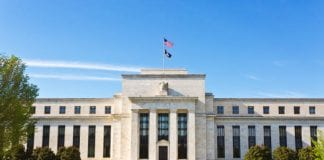USDX Thumb federal reserve building at noon