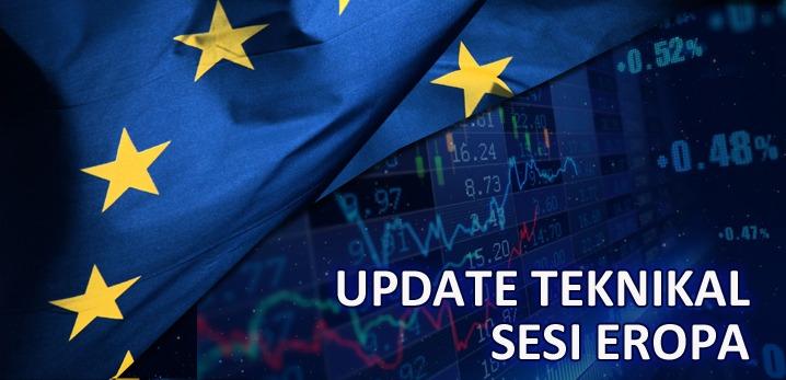 Teknikal Updates Forex, Gold & USOIL Sesi Eropa – 09 Agustus 2019
