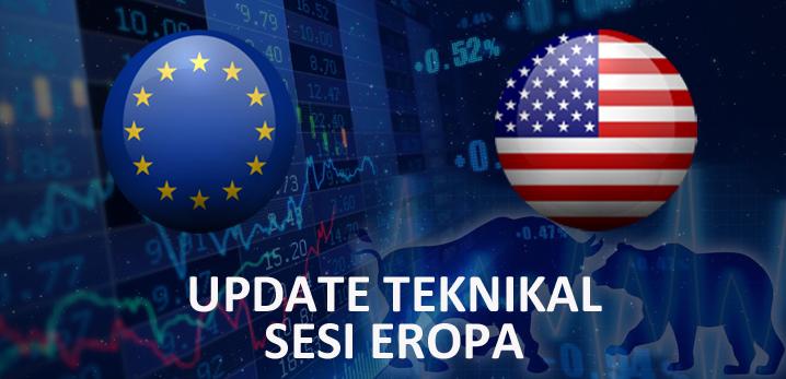 Teknikal Updates Forex EURUSD Sesi Eropa, 27 Juni 2019