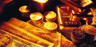 harga emas turun 1%