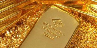 Gold naik ke level tertinggi sembilan tahun