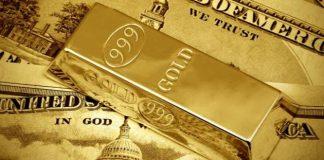 Gold naik ke level tertinggi sembilan tahunan