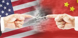 Tensi geopolitik AS dan China