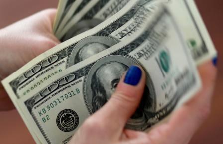 dollar bergerak naik