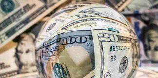 selera resiko tekan dolar
