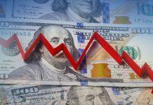 dolar tertekan turun