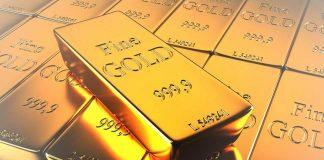 emas terkoreksi turun