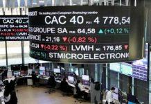 saham Eropa turun
