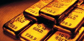 Gold memantul naik