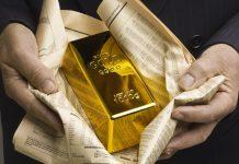 Harga emas bergerak tipis jelang FOMC